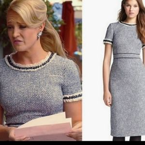 Tory Burch Dresses - Tory Burch Rosemary fitted tweed dress